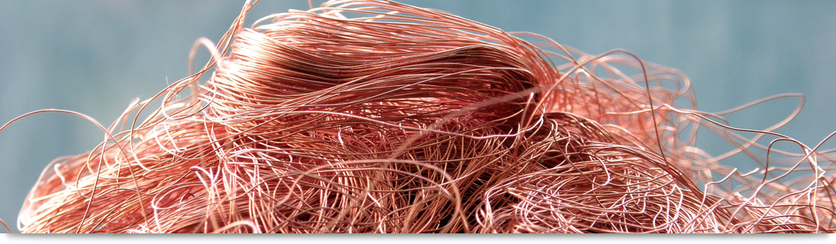 copper wire pile